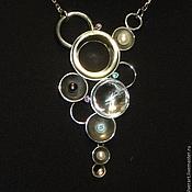 Necklace handmade. Livemaster - original item Necklace silver