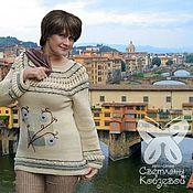 """Одежда ручной работы. Ярмарка Мастеров - ручная работа Джемпер """"Флоренция"""". Handmade."""