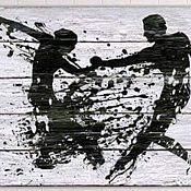 """Картины ручной работы. Ярмарка Мастеров - ручная работа """"Высокий градус отношений. Мужчина и женщина"""".. Handmade."""