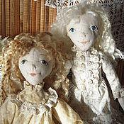 """Куклы и игрушки ручной работы. Ярмарка Мастеров - ручная работа Текстильные куколки """"Подружки"""". Handmade."""