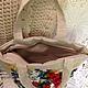 Женские сумки ручной работы. Сумка вышитая лентами. юлия (ribbon55). Ярмарка Мастеров. Полевые цветы, ручная авторская работа