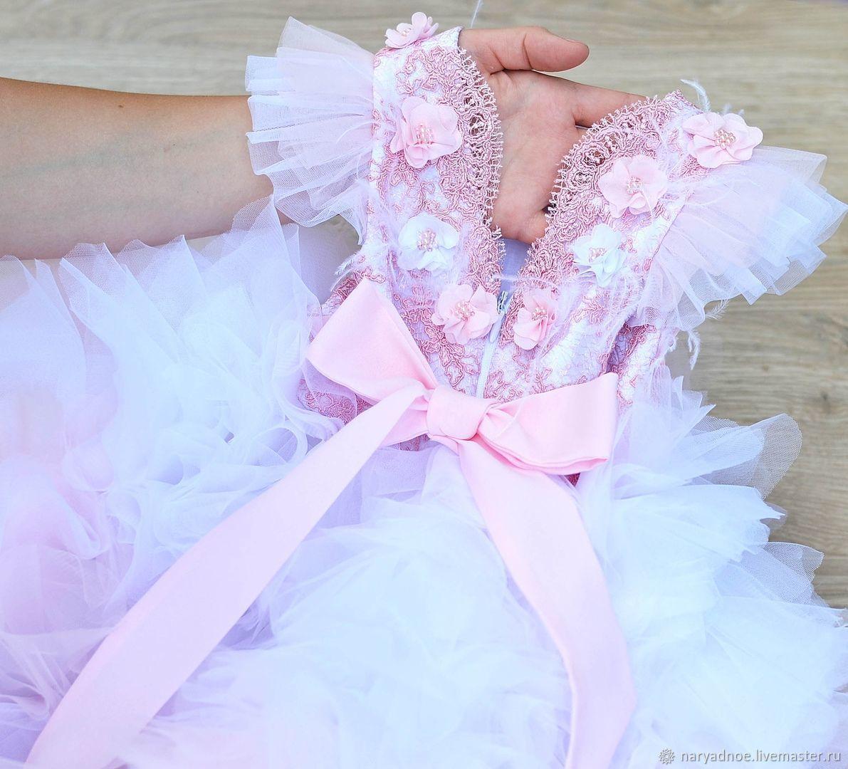 Платье Единорожка со шлейфом, Платья, Новосибирск,  Фото №1