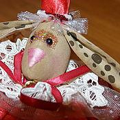Куклы и игрушки ручной работы. Ярмарка Мастеров - ручная работа Кролик-шар на елку. Handmade.