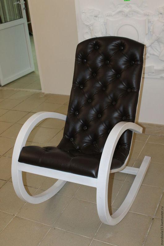 Мебель ручной работы. Ярмарка Мастеров - ручная работа. Купить Кресло-качалка с каретной стяжкой. Handmade. Дуб, кресло, для кухни