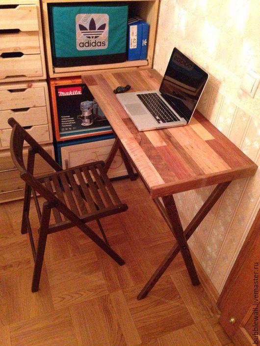 Мебель ручной работы. Ярмарка Мастеров - ручная работа. Купить Столик из редких пород. Handmade. Коричневый, столик