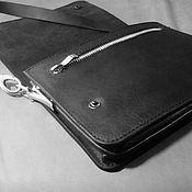 Сумки и аксессуары handmade. Livemaster - original item Men`s bag: shoulder bag, dressing case, bag. Handmade.