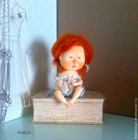 Коллекционные куклы ручной работы. Ярмарка Мастеров - ручная работа. Купить Кукла девочка (Рыжая соня). Handmade. Рыжий