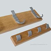 Для дома и интерьера ручной работы. Ярмарка Мастеров - ручная работа Комплект настенных вешалок из массива дерева. Handmade.