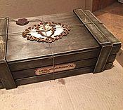 Сувениры и подарки ручной работы. Ярмарка Мастеров - ручная работа Ящик для корпоративных подарков. Handmade.