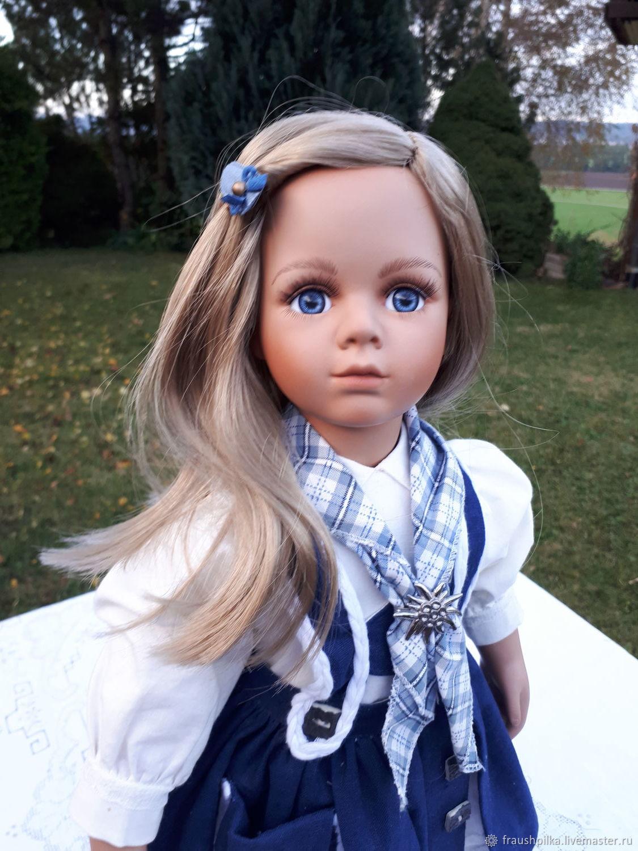 Коллекционные куклы ручной работы. Ярмарка Мастеров - ручная работа. Купить  Коллекционная кукла Кристина от ... e973bd33e41