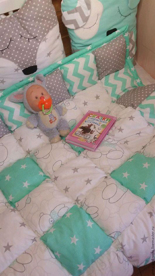одеяло бомбон, зефирное одеяло, одеяло