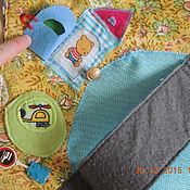 Куклы и игрушки ручной работы. Ярмарка Мастеров - ручная работа текстильный трек для маленьких машинок. Handmade.