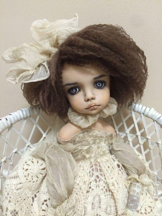 Коллекционные куклы ручной работы. Ярмарка Мастеров - ручная работа. Купить Ксюша. Handmade. Ретро, коллекционная кукла