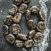 Бусины ручной работы. Ярмарка Мастеров - ручная работа Крапчатые бусины из семян Anipay. Handmade.
