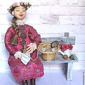 Куклы и игрушки ручной работы. Ярмарка Мастеров - ручная работа Авторская кукла Варвара. Handmade.