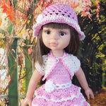 Модная кукла - Ярмарка Мастеров - ручная работа, handmade