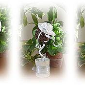 Цветы и флористика ручной работы. Ярмарка Мастеров - ручная работа Дерево счастья. Handmade.