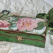 """Для дома и интерьера ручной работы. Ярмарка Мастеров - ручная работа шкатулка """" Rose"""". Handmade."""