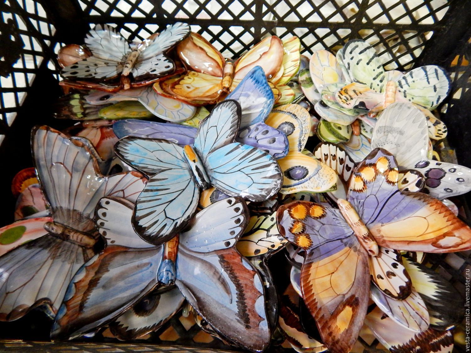 Decor 'Butterfly', Stained glass, Moscow,  Фото №1
