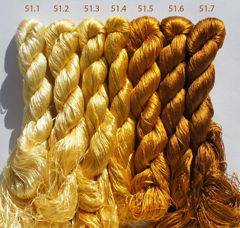 Шелковые нитки для вышивания 13
