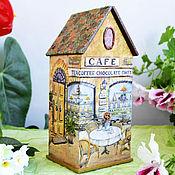 Домики ручной работы. Ярмарка Мастеров - ручная работа Чайный домик Завтрак на веранде. Handmade.
