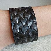 Украшения handmade. Livemaster - original item Cuff bracelet: Dragon bracelet. Handmade.