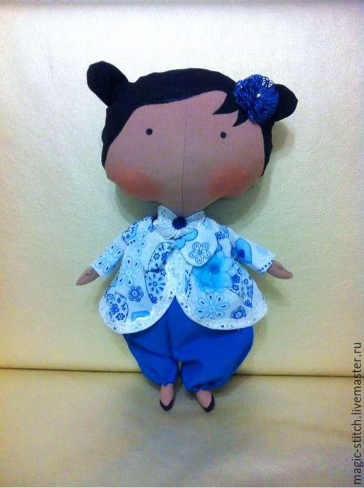 Куклы Тильды ручной работы. Ярмарка Мастеров - ручная работа. Купить Малышка в стиле Тони Финнагер. Handmade. Кукла