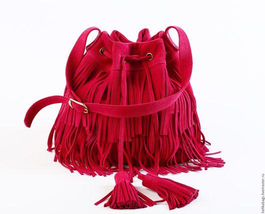 Женские сумки ручной работы. Ярмарка Мастеров - ручная работа. Купить Торба Fuchsia. Handmade. Сумка ручной работы, качественно