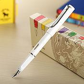 Инструменты для столярного дела ручной работы. Ярмарка Мастеров - ручная работа Ручка чернильная белая. Handmade.