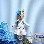 Для дома и интерьера ручной работы. Ярмарка Мастеров - ручная работа Мини-зверята. Морская феечка. Handmade.