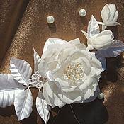 Свадебный салон ручной работы. Ярмарка Мастеров - ручная работа роза свадебная. Handmade.