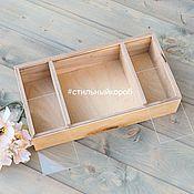 Корзины ручной работы. Ярмарка Мастеров - ручная работа Ящики для цветов, упаковка  для макарун, упаковка, ящик для цветов. Handmade.