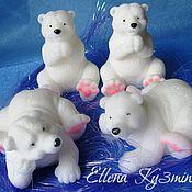 Косметика ручной работы. Ярмарка Мастеров - ручная работа Мыло Белый медведь. Handmade.