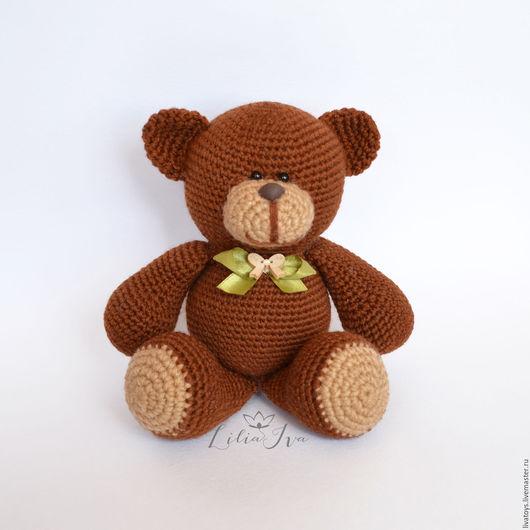 Игрушка ручной работы мишка, купить медведя.