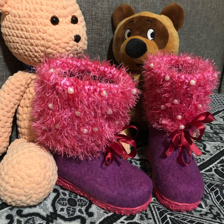 Валеночки детские, Обувь для детей, Хабаровск,  Фото №1
