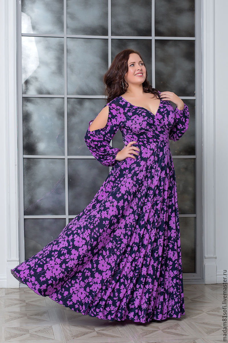 Вечерние платья больших размеров цена и