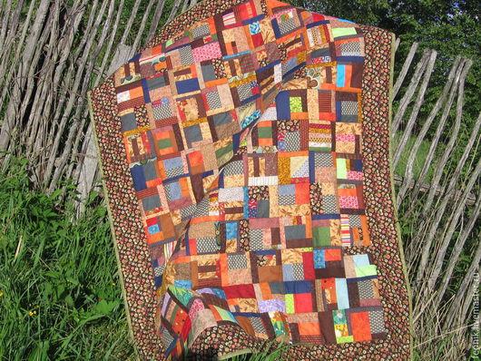 """Текстиль, ковры ручной работы. Ярмарка Мастеров - ручная работа. Купить Лоскутное одеяло """"От бабушки"""". Handmade. Лоскутное одеяло"""