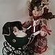 Куклы и игрушки ручной работы. Миниатюрная коляска с   куколкой. Надежда (baby-best). Ярмарка Мастеров. Маленькая куколка, миниатюрная кукла