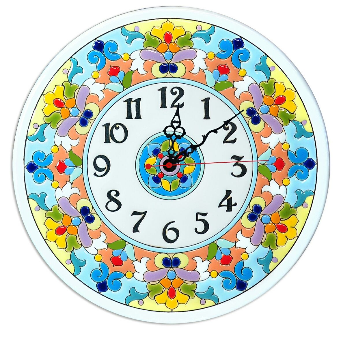 Wall Clock Decorativeceramicround Shop Online On Livemaster With