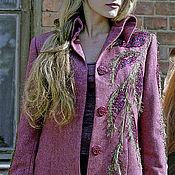 Одежда handmade. Livemaster - original item The jacket is decorated with lilac braid IVA. Handmade.