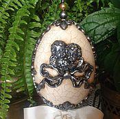 """Подарки к праздникам ручной работы. Ярмарка Мастеров - ручная работа Интерьерное пасхальное яйцо """" Angels"""". Handmade."""