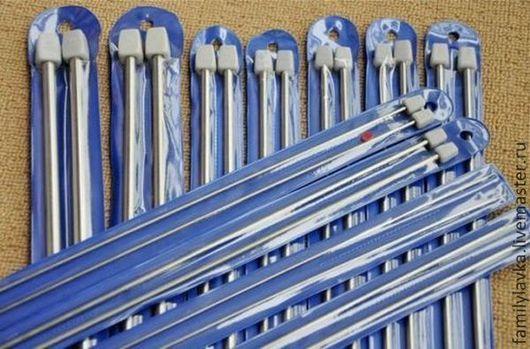 Вязание ручной работы. Ярмарка Мастеров - ручная работа. Купить Комплект металлических спиц. Handmade. Серый, спицами, комплект