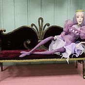 Куклы и игрушки ручной работы. Ярмарка Мастеров - ручная работа Кованый  диван для  куклы.. Handmade.