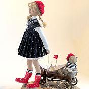 Куклы и игрушки ручной работы. Ярмарка Мастеров - ручная работа Авторская кукла. Море зовет.. Handmade.