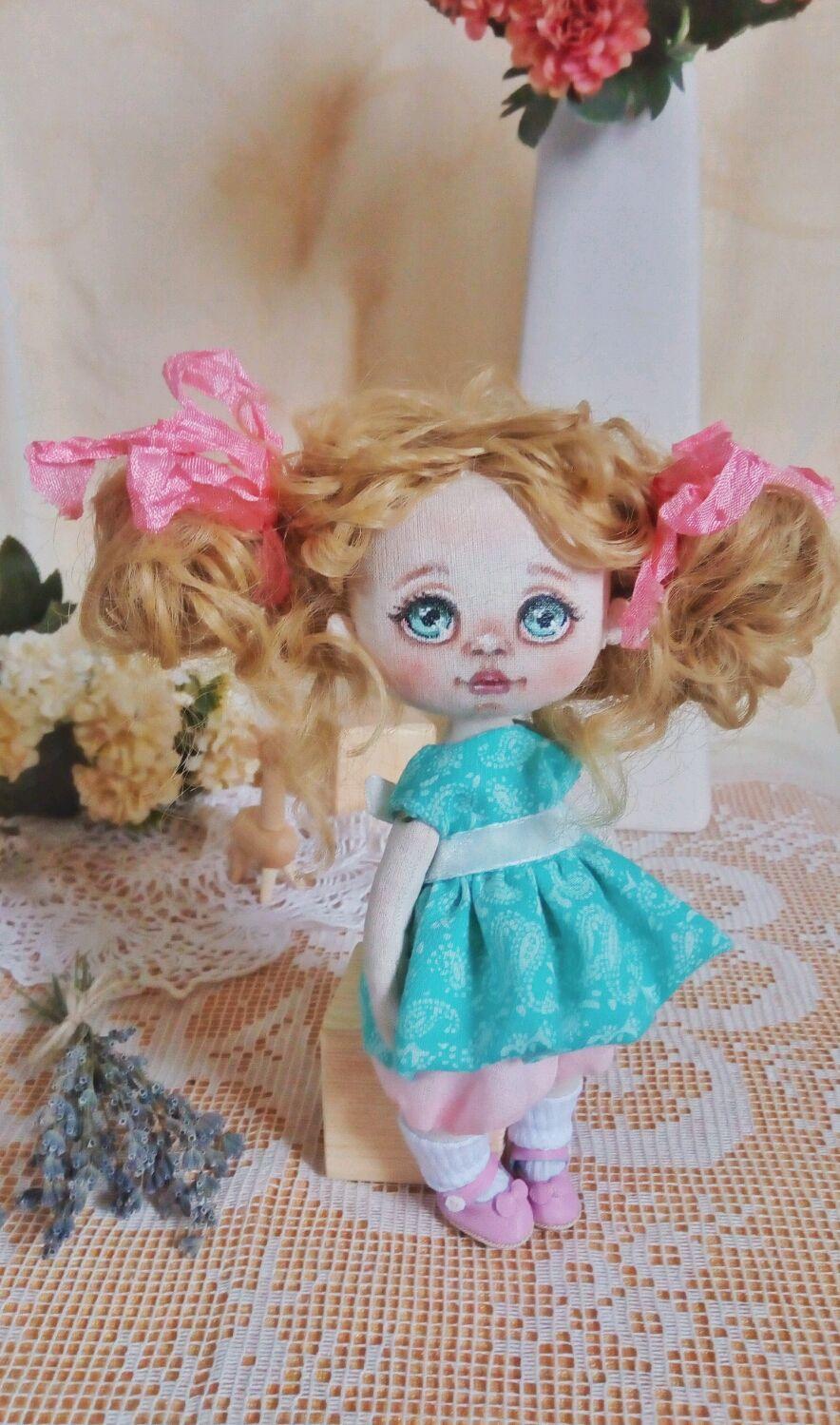 Текстильная кукла, Коллекционные куклы, Саратов, Фото №1