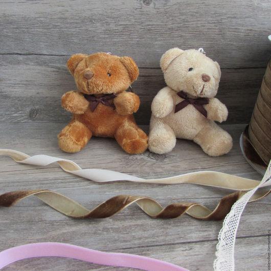 Игрушка для куклы Мишка, 8см, 2 вида расцветки