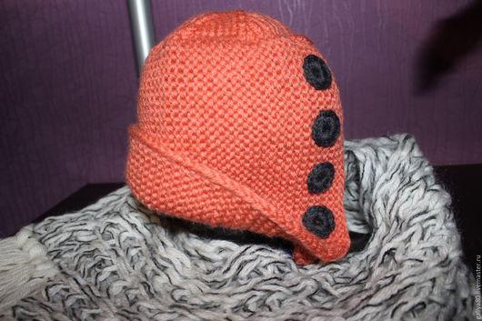 """Шапки ручной работы. Ярмарка Мастеров - ручная работа. Купить стильная шапка """"Робин Гуд"""". Handmade. Шапка женская, однотонный"""