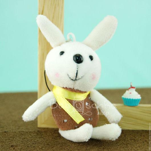 """Куклы и игрушки ручной работы. Ярмарка Мастеров - ручная работа. Купить Зайка для кукол  """"Какао"""" 13 см. Handmade. Разноцветный"""