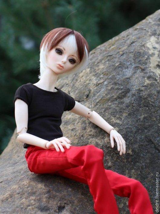 Коллекционные куклы ручной работы. Ярмарка Мастеров - ручная работа. Купить кукла шарнирная Дэррил. Handmade. Бжд