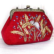 Beauticians handmade. Livemaster - original item Cosmetic bag MOUSE 2020. Handmade.